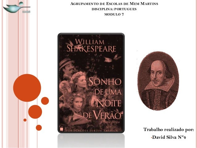 AGRUPAMENTO DE ESCOLAS DE MEM MARTINS DISCIPLINA: PORTUGUES MODULO 7 Trabalho realizado por: •David Silva Nº4