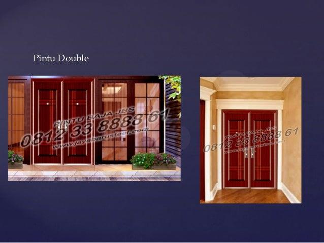 Pintu Rumah Minimalis Terbaru Pintu Rumah Minimalis Modern Desain P