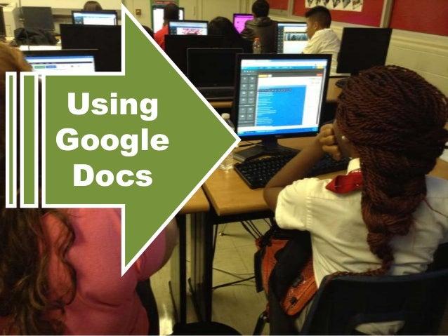 Using Google Docs