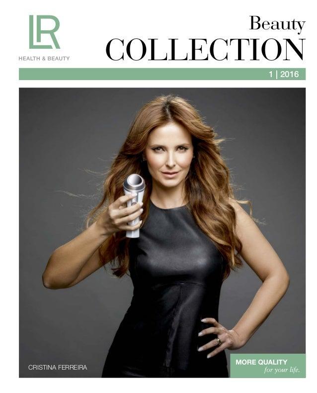1 | 2016 CRISTINA FERREIRA Beauty COLLECTION