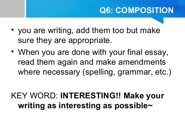 english composition 2 final essay What is english composition you'll learn about the entire process of putting together a well-crafted essay and polishing and presenting your final draft.
