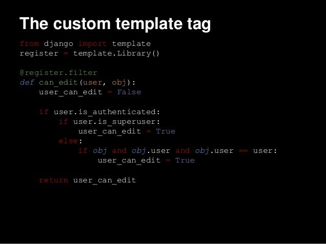 Django User Permissions In Your Templates