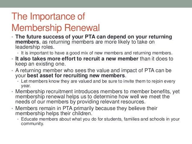 Pta membership planning workshop membership renewal thecheapjerseys Choice Image