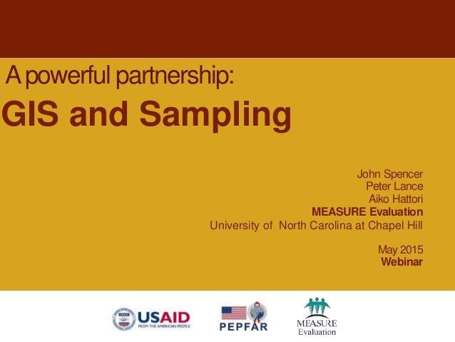 John Spencer Peter Lance Aiko Hattori MEASURE Evaluation University of North Carolina at Chapel Hill May 2015 Webinar Apow...