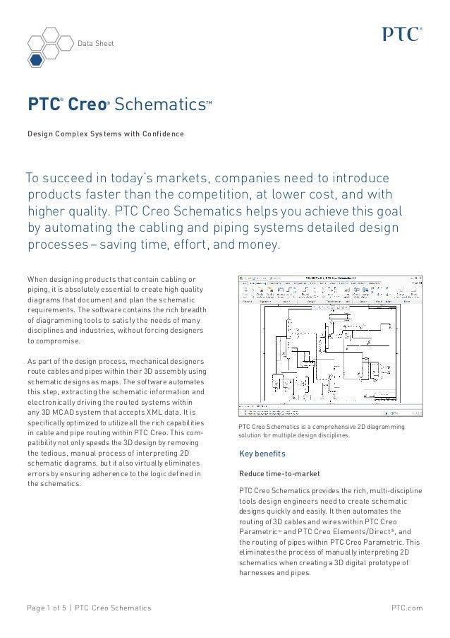Ptc creo-schematics-datasheet