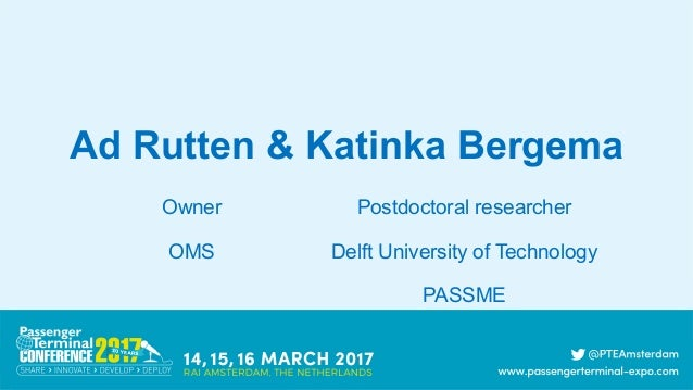 Ad Rutten Katinka Bergema Postdoctoral Researcher Delft University Of Technology PASSME Owner