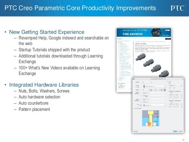 Ptc creo essentials 3 0 overview new features