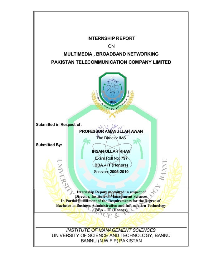 ptcl report This report is the part of our b-tech program this report has been written to know how big organizations like ptcl manage their teams to achieve their common goals in the first phase of the report there is the general introduction about the company and then different terms have been explained .
