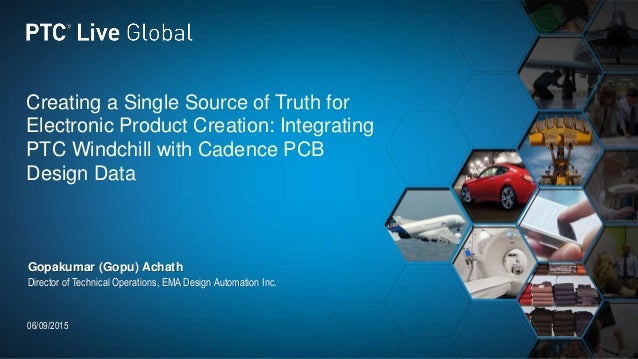 Creating a Single Source of Truth for Electronic Product Creation: Integrating PTC Windchill with Cadence PCB Design Data ...