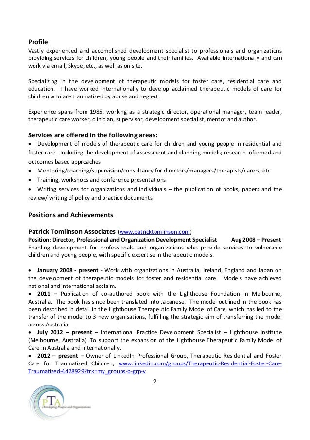 pt cv resume jan 2015