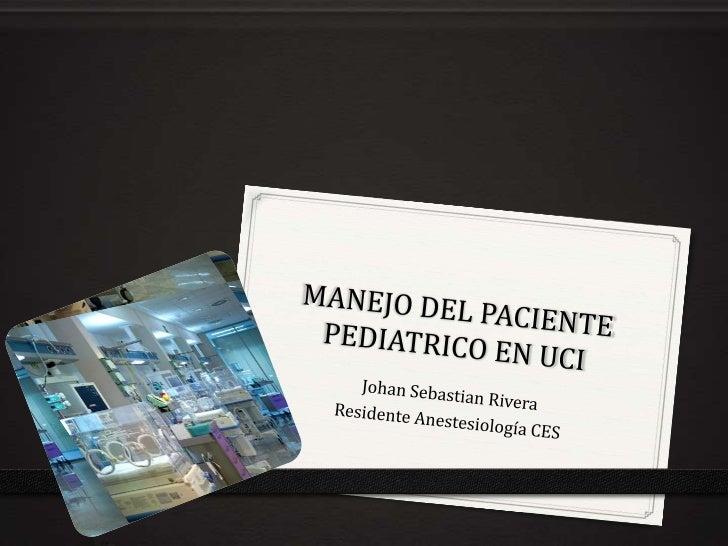 Introducción0 Mayor morbimortalidad cuando son manejados en UCI                     convencional          0 Fisiología y a...