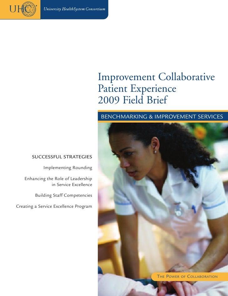 Improvement Collaborative                                         Patient Experience                                      ...