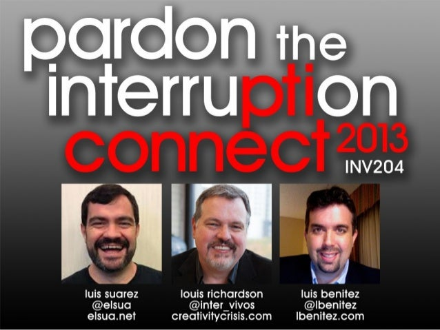 Pardon the Interruption: Social Biz Hot Topics