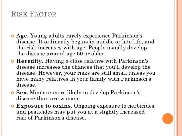 Parkinsons disease V Pharm.D