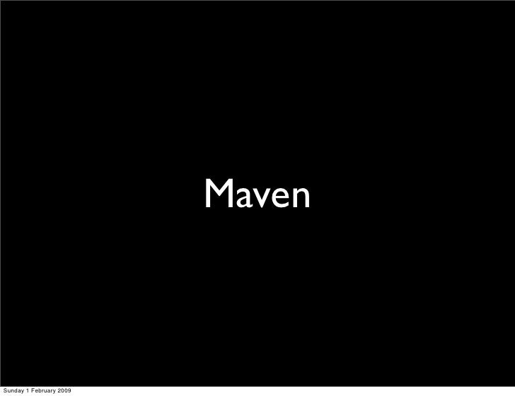 maven resume build