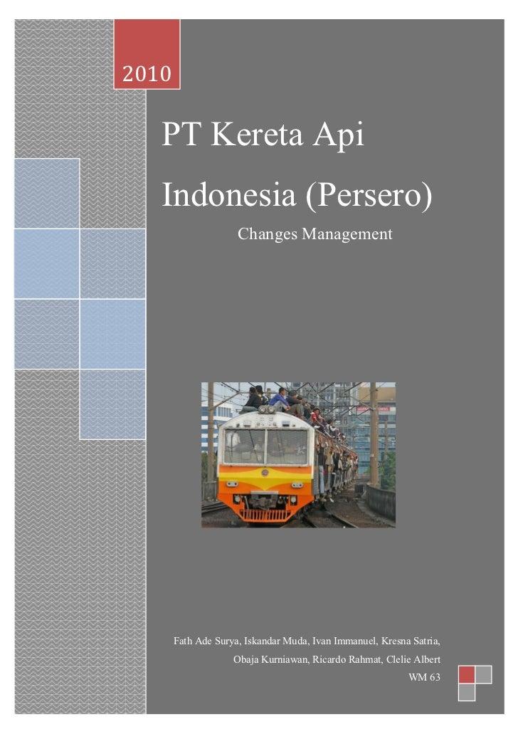 Pt kai kelompok 5 p 2010 pt kereta api indonesia persero reheart Choice Image