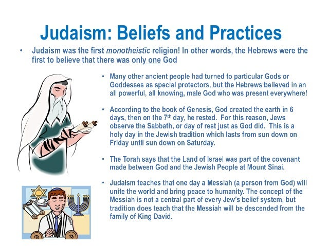 beliefs and practices judaism buddhism and Download as: word (doc) pdf judaism an excerpt from the handbook of religious beliefs and practices history/background judaism is the religion of the jews.