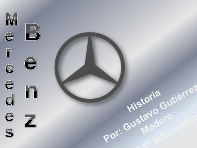 Mercedes-Benz es una marca alemana deautomóviles, autobuses y camiones de lacompañía antes conocida como Daimler-Benz y Da...