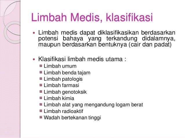 PTPS : LIMBAH MEDIS Slide 3