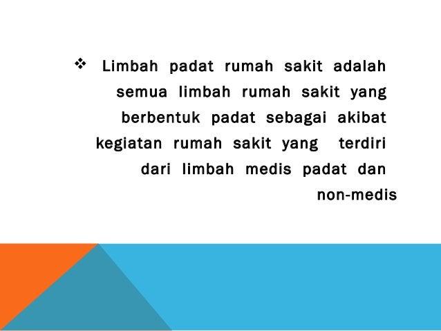 PTPS : PENGENDALIAN SAMPAH MEDIK Slide 2