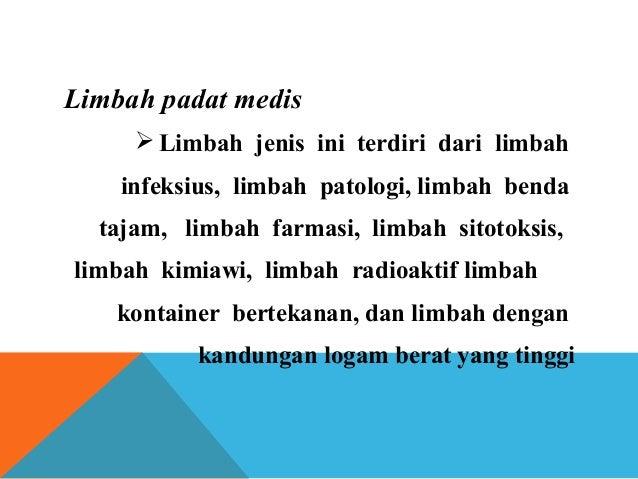 PTPS : PENGENDALIAN SAMPAH MEDIK Slide 3