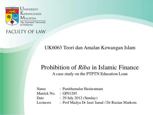 Islamic Finance Ptptn