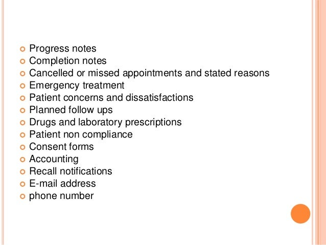 patient progress note template