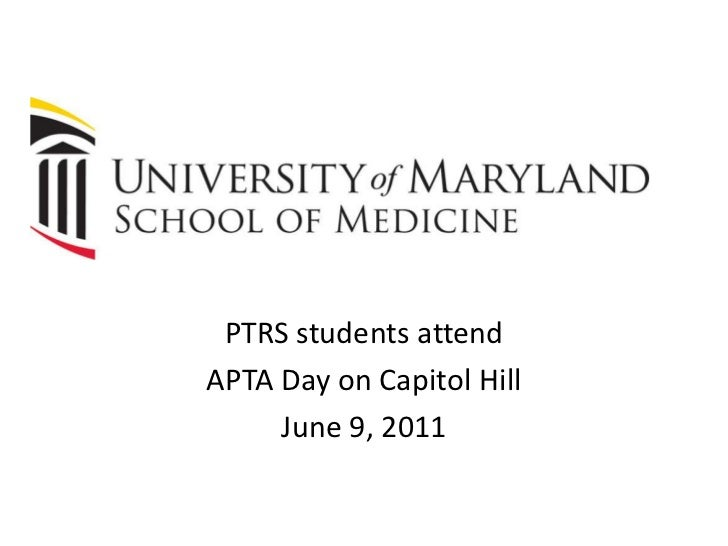 PTRS students attend <br />APTA Day on Capitol Hill <br />June 9, 2011<br />