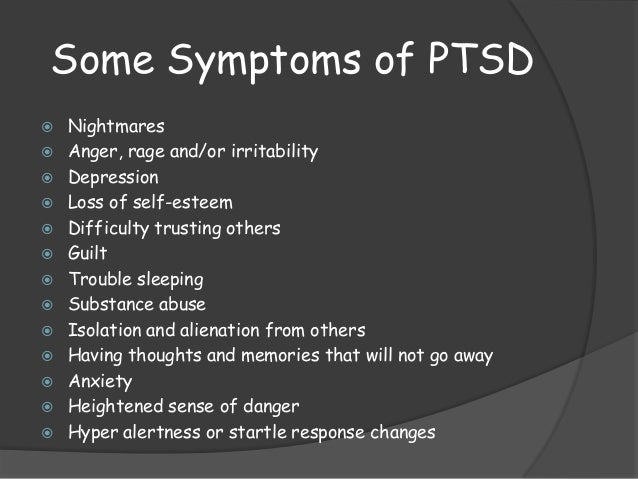 Ptsd the cause and cure essay