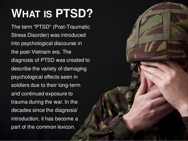 posttraumatic stress disorder causes effects in soldiers essay Post-traumatic stress disorder: causes symptoms and effects essay 1382 words | 6 pages or suffered from a traumatic brain injury during operation iraqi freedom or operation enduring.