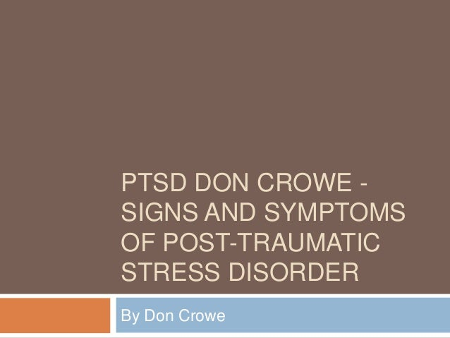 post traumatic stress disorder and relationship