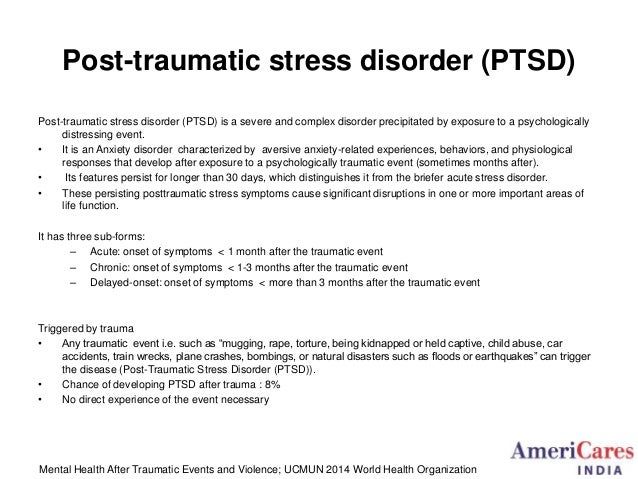Ptsd Car Accident Treatment
