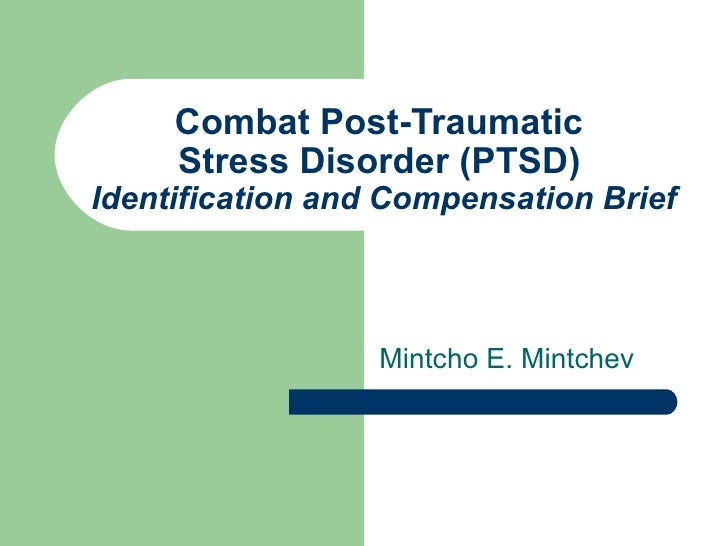 Department of Veterans Affairs - VA - Combat Post-Traumatic Stress Di…
