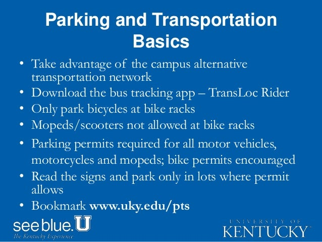 Parking Transportation Services 2016