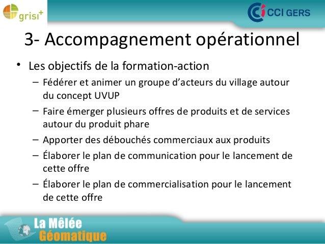 3- Accompagnement opérationnel • Les objectifs de la formation-action La Mêlée Géomatique – Fédérer et animer un groupe d'...