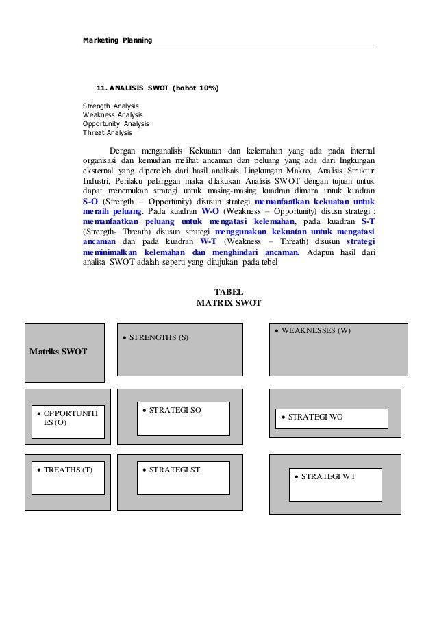 Marketing Plan Terlengkap Pt Unilever Detail Hinga 87 Lembar