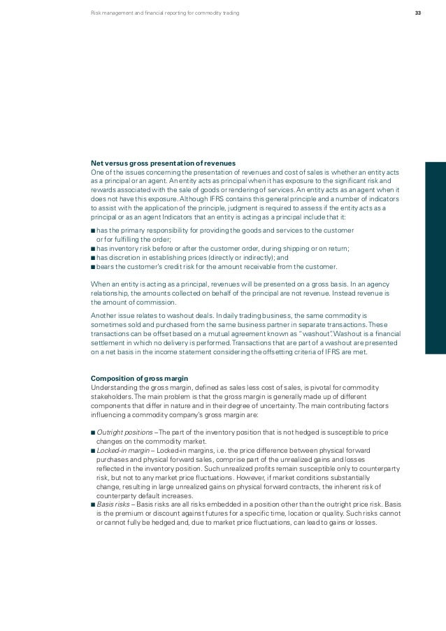 Risk management and financial reporting for commodity trading 2013 – Daily Financial Report