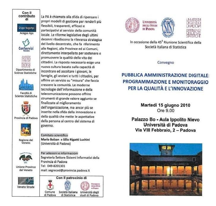 Pubblica Amministrazione Digitale con il contributo di Confservizi Veneto