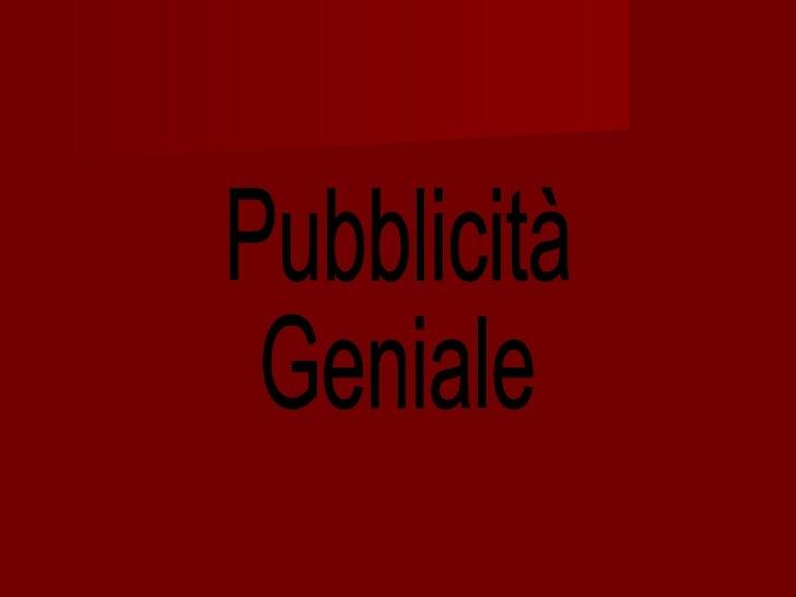 Pubblicitm