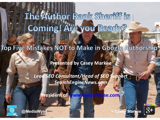 Presented by Casey Markee Lead SEO Consultant/Head of SEO Support SearchEngineNews.com President of www.MediaWyse.com @Med...
