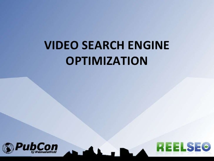 Video Search Engine Optimization<br />