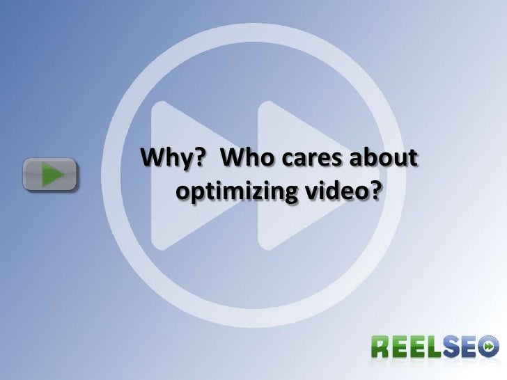 Video Search Engine Optimization Overview and Tips for Hosted Video slideshare - 웹