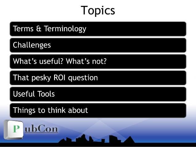 Pubcon Vegas 2010 - Social Media: Measurements & Tools Slide 2