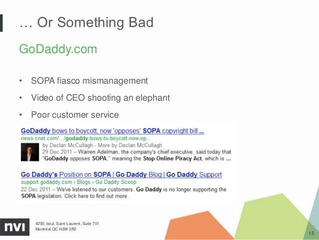 Or Something BadGoDaddy com• SOPA