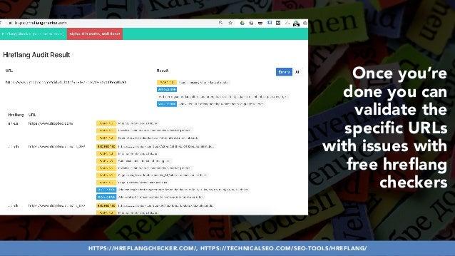 #HREFLANGSUCCESS BY @ALEYDA FROM #ORAINTI AT @PUBCONHTTPS://HREFLANGCHECKER.COM/, HTTPS://TECHNICALSEO.COM/SEO-TOOLS/HREFL...