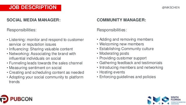 Hiring Right Social Media Vs Community Manager