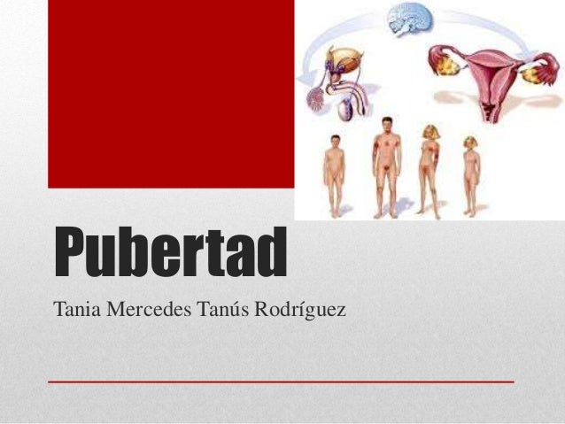Pubertad  Tania Mercedes Tanús Rodríguez