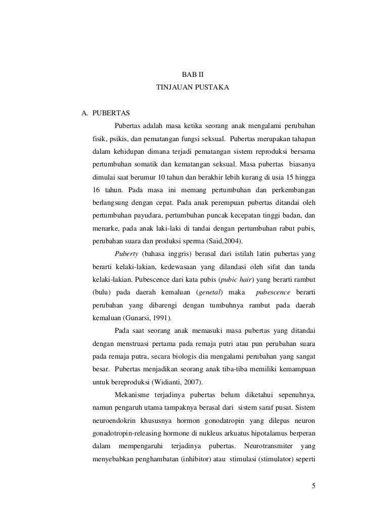 PENILAIAN STATUS PUBERTAS PDF DOWNLOAD