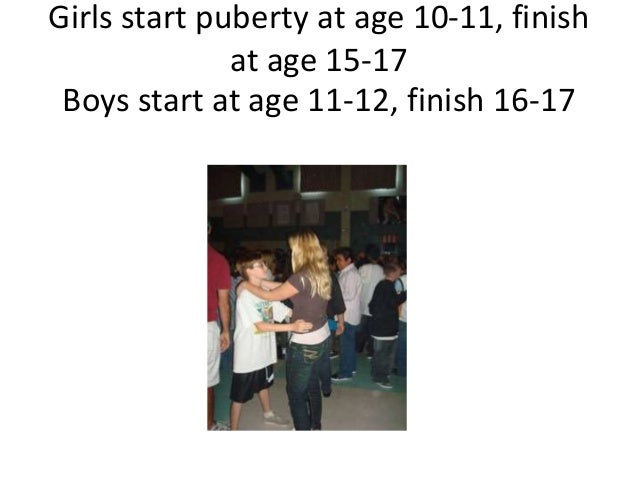 when does puberty stop for guys