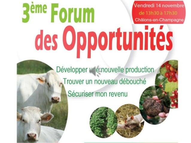 Productions végétales  • Association Marnaise des Producteurs de  Truffes  • EXPANDIS  • FNAMS – GNIS  • GENERATION 5  • L...